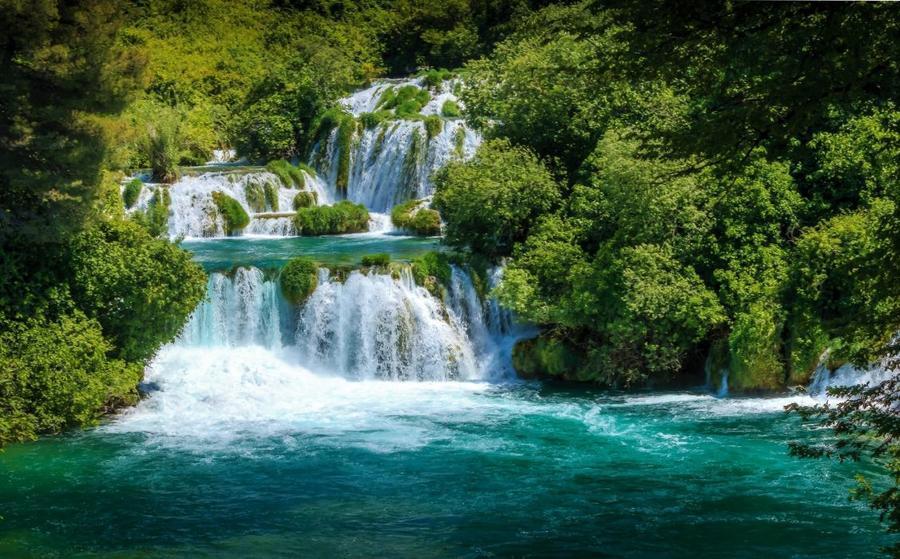 Краса природи  зачаровує - частина 2 Небо, Арт, Гори, Водоспад, Ліси, Ліс, Природа, Листя id819592880