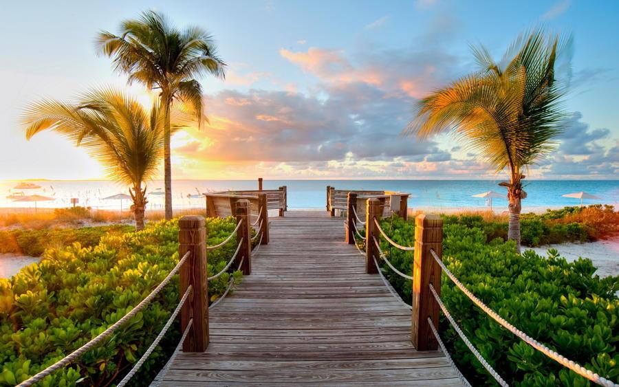Дивовижна краса природи - частина 12 Пальми, Хвилі, Дерева, Парк, Море, Океан, Схід, Захід, Пісок, Острів id1310976939