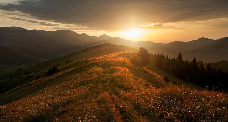 Краса вересня - частина 6 Природа, Осінь, Дерева, Листя, Сонце, Гори, Позитив, Небо, Ліс, Царство Природи id752814962