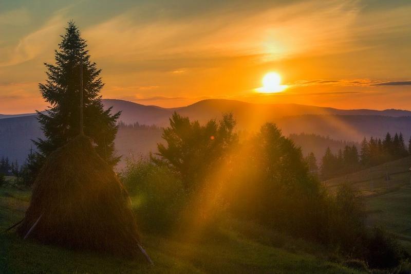 Краса вересня - частина 7 Природа, Осінь, Дерева, Листя, Сонце, Гори, Позитив, Небо, Ліс, Царство Природи id1192847797