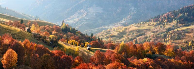 Краса жовтня - частина 17 Природа, Осінь, Жовтень, Дерева, Карпати, Схід, Сонце, Вода, Листя, Небо id1166260368