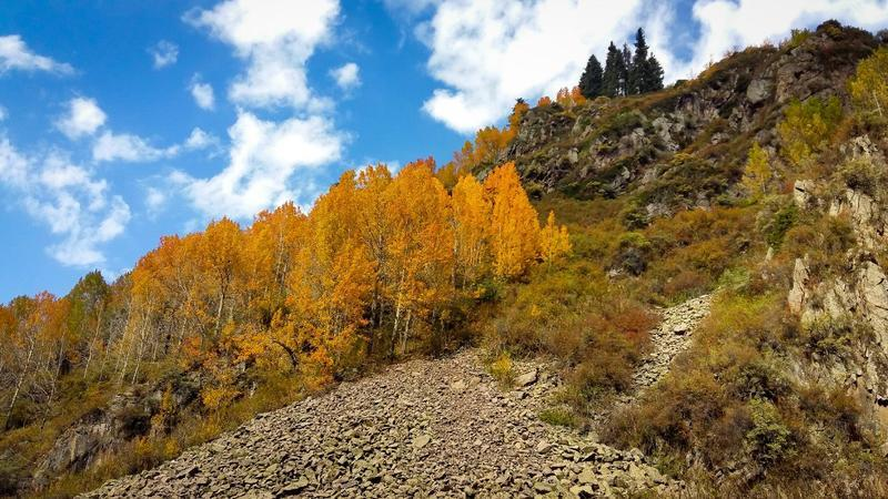Краса жовтня - частина 17 Природа, Осінь, Жовтень, Дерева, Карпати, Схід, Сонце, Вода, Листя, Небо id1217102160