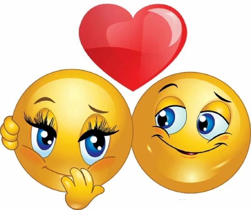 Смайлики і любов Позитив, Любов / Кохання, Смайлики, Сайт знайомств Дві Зірки, Чоловіки, Жінки id285178122