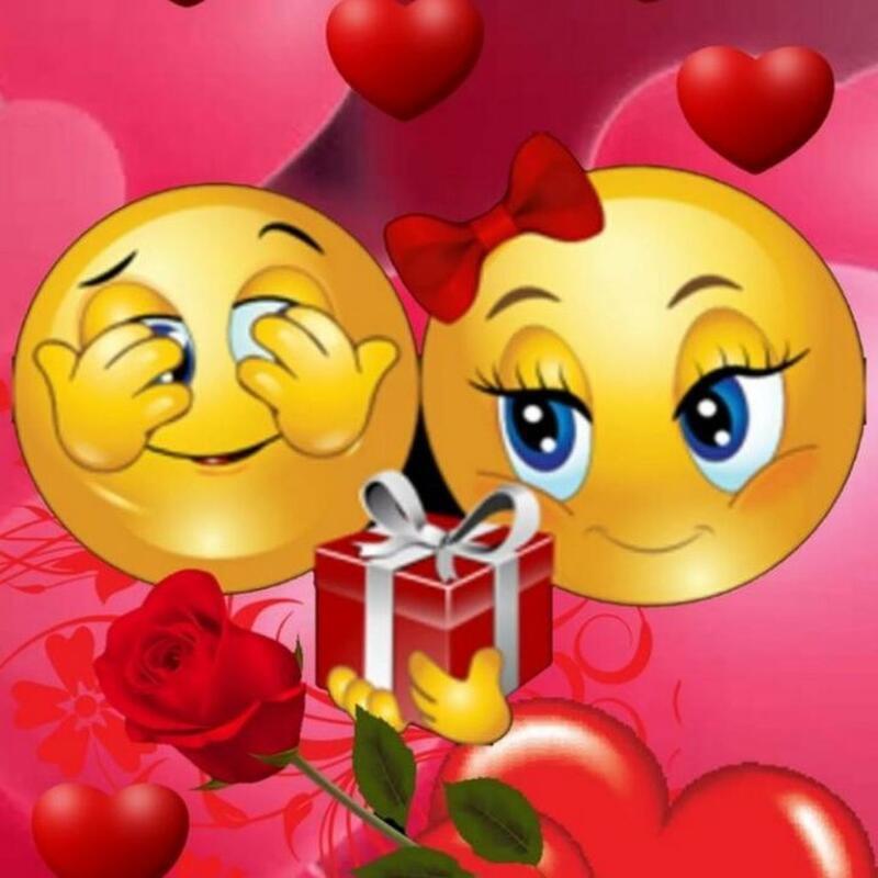Смайлики і емоції Позитив, Любов / Кохання, Смайлики, Сайт знайомств Дві Зірки, Чоловіки, Жінки id1616911721