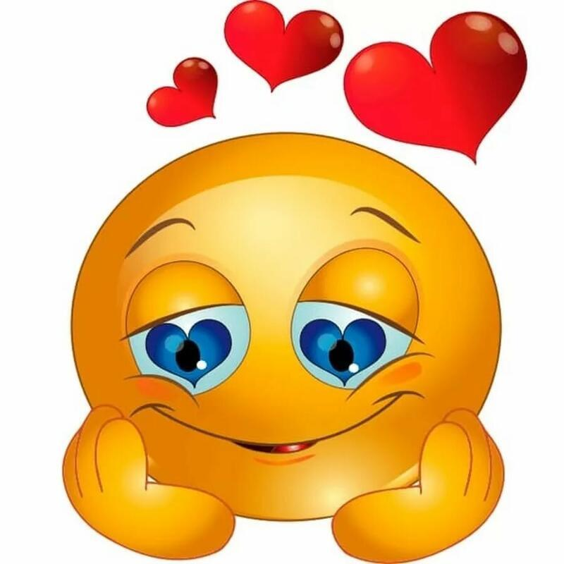Смайлики і емоції Позитив, Любов / Кохання, Смайлики, Сайт знайомств Дві Зірки, Чоловіки, Жінки id1991868043