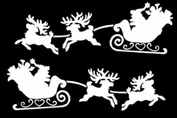 Новорічні фігурки та витинанки: паперовий декор на вікна своїми руками Свята, Новий рік, Новорічні фігурки, Витинанки, Паперовий декор на вікна своїми руками id949555313