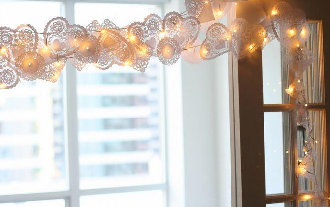 Новорічні гірлянди 2021: паперовий декор на вікна своїми руками Свята, Новий рік, Новорічні гірлянди, Паперовий декор на вікна своїми руками id1873752097