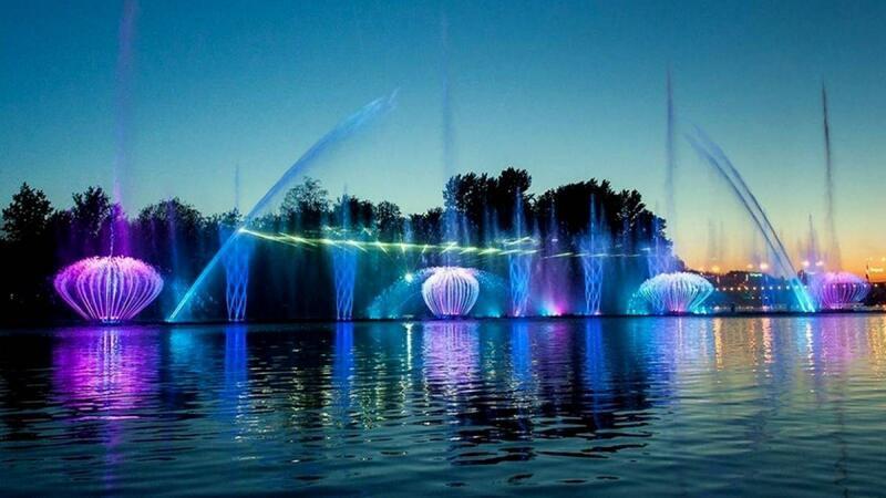 """Онлайн Знайомства Вінниця. Побачення біля світломузичного фонтану """"Рошен"""" Цікаві місця для побачень, Романтична зустріч, Cвітломузичний фонтан id424947176"""