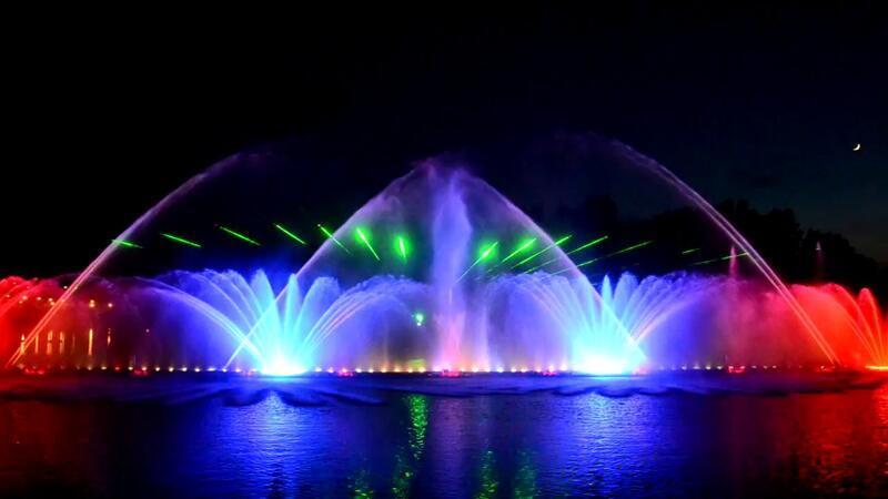 """Онлайн Знайомства Вінниця. Унікальність світломузичного фонтану """"Рошен"""" Цікаві місця для побачень, Романтична зустріч, Cвітломузичний фонтан id169667537"""