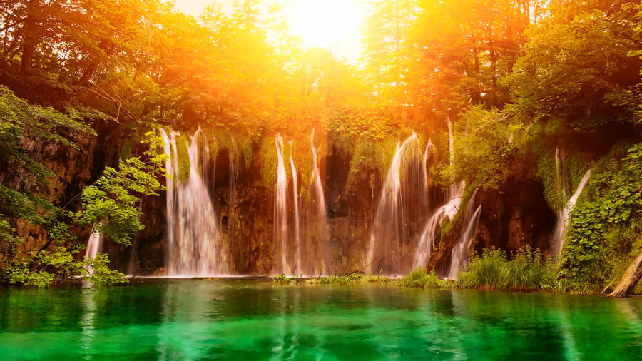 Дивовижна краса природи - частина 9 Небо, Гори, Озеро, Дерева, Ліс, Водоспад, Море, Океан, Схід, Захід id1413630354