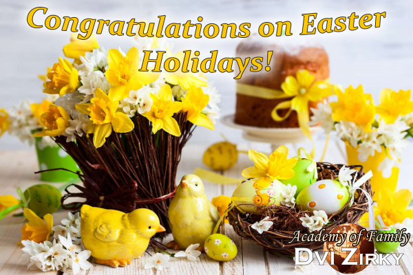 Congratulations on Easter Holidays! 141445556