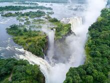Найцікавіші факти СВІТУ - Невгамовний водоспад Вікторія id1704534620