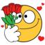 Смайлики і емоції Позитив, Любов / Кохання, Смайлики, Сайт знайомств Дві Зірки, Чоловіки, Жінки id1849575296