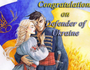 Congratulations on Defender of Ukraine! id