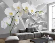 Знайомство з абстракцією 3d -  частина 4 Абстракція, 3D, Квіти, Краса, Мистецтво, ФотоШпалери, Спальня, Вітальня id2070168354