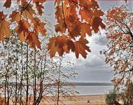 Краса жовтня - частина 6 Природа, Осінь, Жовтень, Дерева, Парк, Схід, Сонце, Вода, Листя, Небо id1780474263