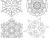 Сніжинки і витинанки 2021: паперовий декор на вікна своїми руками Свята, Новий рік, Сніжинки, Витинанки, Паперовий декор на вікна своїми руками id1100208098
