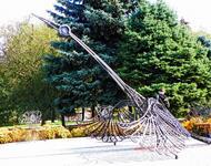Знайомства Черкаси. Долина троянд - Сонячний годинник «Птах» Цікаві місця для побачень, Природа, Парк, Троянди, Сонячний годинник id2000805904