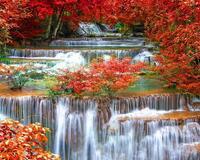 Краса природи  зачаровує - частина 2 Небо, Арт, Гори, Водоспад, Ліси, Ліс, Природа, Листя id788782674