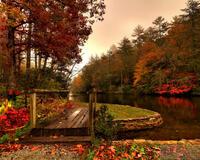 Краса жовтня - частина 4 Природа, Осінь, Жовтень, Дерева, Парк, Схід, Сонце, Вода, Листя, Небо id1241976463