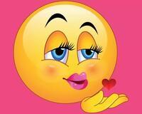 Смайлики і емоції Позитив, Любов / Кохання, Смайлики, Сайт знайомств Дві Зірки, Чоловіки, Жінки id1470809246