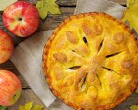 Яблучний пиріг з дріжджового тіста id793807775