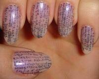 Шпаргалки на ногтях id849201489